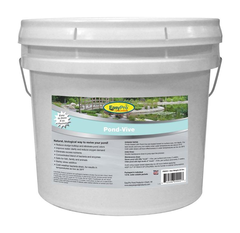 Pb25x Pond Vive Bacteria 25lb Pail 50ct